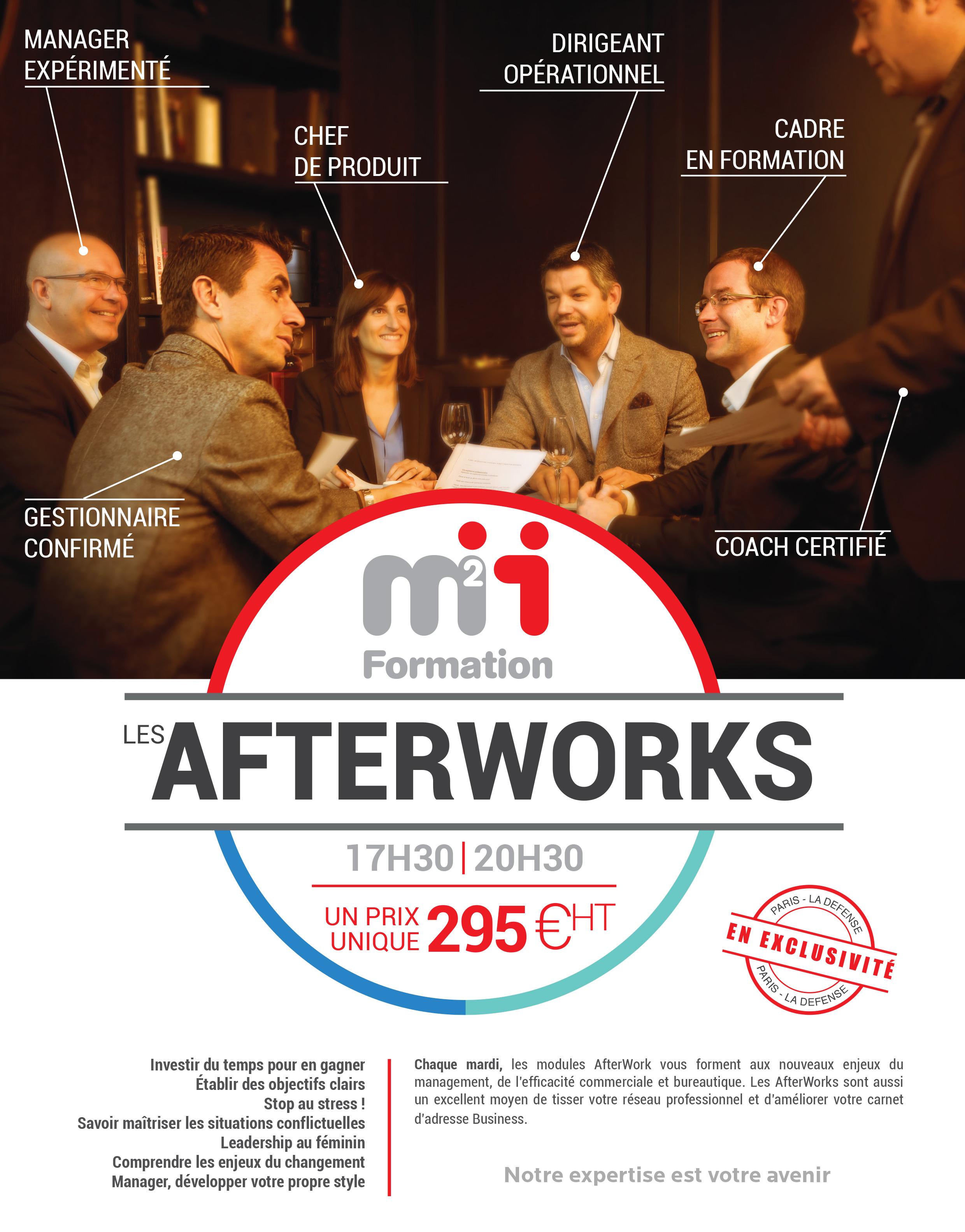 Devenez un expert en 3 heures avec les Afterworks M2i Formation !