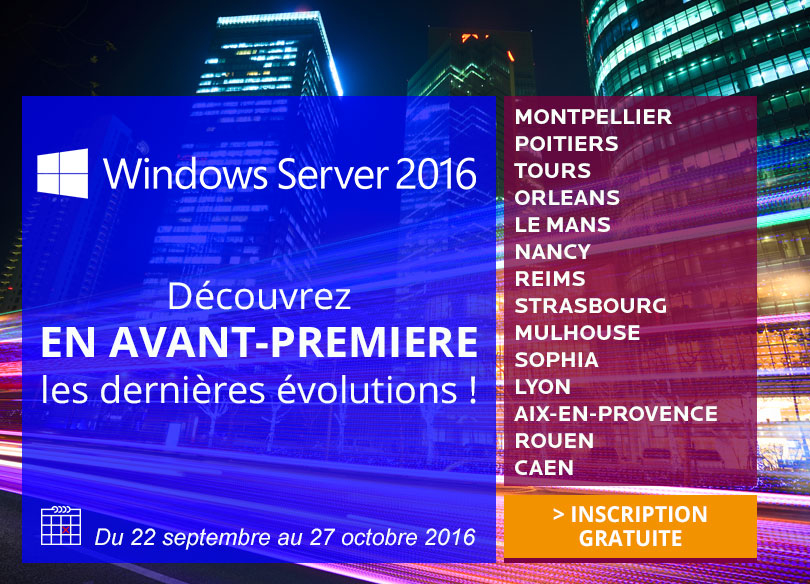 Tour de France Windows Server 2016