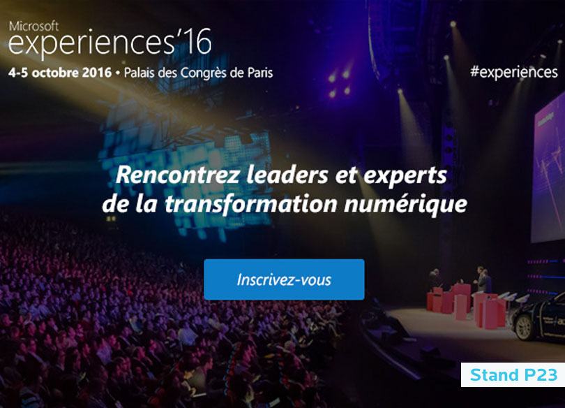 M2i Formation aux Microsoft experiences'16